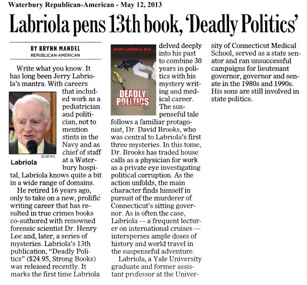 Waterbury Republican-American - May 12, 2013